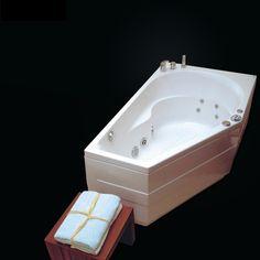 La baignoire ELBA 160 x 90, 1 place est une baignoire de balnéothérapie asymétrique, au design élégant. Profitez de moments de détente et de relaxation dans votre salle de bain.  Baignoire balnéothérapie asymétrique ELBA 160x90cm - NVS1 - VICTORY SPA : http://www.ma-baignoire-balneo.com/baignoire-balneo-asymetrique-mauritius-160x90-victoryspa-xml-1081_1094-842.html
