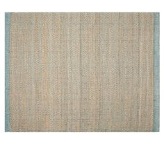 For guest room or need something more colorful?   ////. Cooper Zig Zag Natural Fiber Rug - Aqua | Pottery Barn