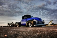 1953 CHEVY CHEVROLET PICKUP TRUCK BAGGED AIRRIDE HOTROD