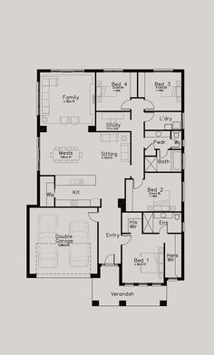 If you are interested in a home design, our home consultants are available to talk to you about your building project. Contact us today and start your home journey. Beautiful House Plans, Dream House Plans, Modern House Plans, Small House Plans, Duplex Floor Plans, House Floor Plans, House Layout Plans, House Layouts, Home Design Plans