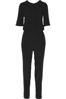 American Vintage Holiester crepe jumpsuit   NET-A-PORTER