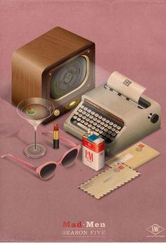 Yo usé una máquina de escribir de esas, en mi primer trabajo. Fumé L, Usé mucho de esos sobres, y tuve esos anteojos. ¡Y ahora son antiques!!! ¡Toy viejita!!!    Espe