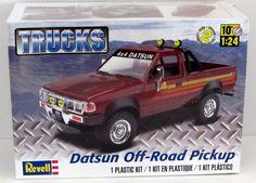 Datsun Off Road Pickup Revell 85-4321 1/24 Scale New Model Kit