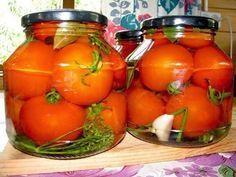 невероятно вкусные съедаются тут же вместе с рассолом) Итак, начинаем. Отбираем помидоры одного размера, любого, как вы любите. Моем, ...
