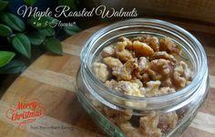 Maple Roasted Walnuts