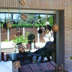 Nuestras guirnaldas de bambú quedarán perfectas en tu #jardín (15,61€) #inlove #deco #decoracion #terraza #luz #hosten