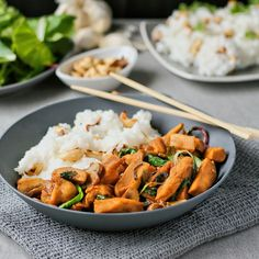 Soy Cashew Chicken with Jasmine Rice Recipe