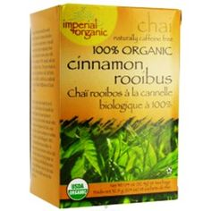 Uncle Lee's Imperial Organic Tea - Chai  With Cinnamon Rooibos, 18-Count (Pack of 4) >>> Be sure to check out this awesome product. (This is an affiliate link) #ChaiTea