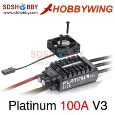 68.99$  Buy here - http://alibf4.shopchina.info/go.php?t=1762305587 - Hobbywing Platinum 100A V3 Brushless ESC/ Speed Controller (Professional) with Fan for RC Airplane 68.99$ #buymethat