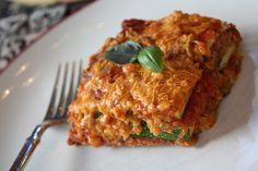 Quinoa Lasagna.   Vegan, and gluten free!