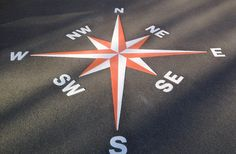 Compasses | first4playgrounds | Playground Markings