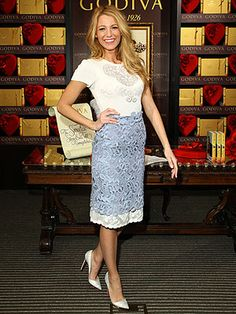 Blake Lively Receives Louboutin's Entire Spring Collection    Can I be Blake when I grow up?