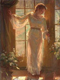 Daniel Gerhartz Collection - Teri Galleries Fine Art Gallery offering New Orleans artists, International Fine Art, Conservation Framing, and Fine Art Consulting Renaissance Paintings, Renaissance Art, Old Paintings, Beautiful Paintings, Romantic Paintings, Images Esthétiques, Arte Van Gogh, Classical Art, Old Art
