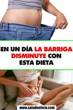 EN UN DÍA LA BARRIGA DISMINUYE CON ESTA DIETA Healthy Life, Gym Shorts Womens, Fat, Fitness, Tips, Fashion, Stress, Vestidos, Losing Weight Fast