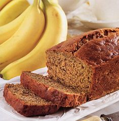 banana bread-diabetic dessert recipes with splenda (yummy snacks banana bread) Diabetic Desserts, Diabetic Recipes, Low Carb Recipes, Diabetic Bread, Paleo Bread, Diabetic Foods, Bread Food, Easy Bread, Healthy Recipes