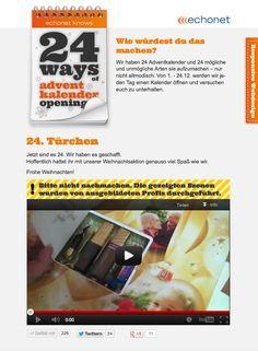 Der echonet Adventkalender im Responsive Webdesign -   https://24ways.echonet.at/