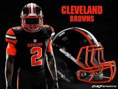 College Football Uniforms, Nfl Uniforms, 32 Nfl Teams, Nfl Football Players, Football Jerseys, Football Helmets, Football Stuff, Football Helmet Design, Cleveland Browns Football