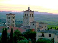 Light in Trujillo, Spain, is beautiful any time of day. #USAinExtremadura