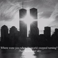 Prayers go out to all the families that were affected 11 years ago today. I know today is a painful reminder of lost loved ones. I pray to God everyone seeks after his comfort and trust in him in this difficult time.