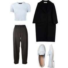 noora style #skam by nataliamalecka on Polyvore featuring polyvore, fashion, style, Proenza Schouler, Marni, Cédric Charlier, Gap and clothing