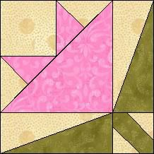 Block of the Day for June 29, 2014 - Peony