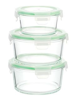 Glass Food Storage Containers With Locking Lids Kinetic Gogreen Glassworks Elements 18Piece Ovensafe Glass Food