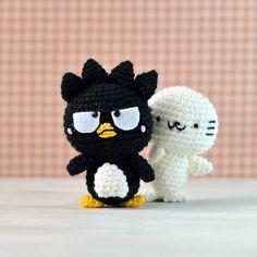 Badtz Maru Hello Kitty Crochet by amiguruMEI