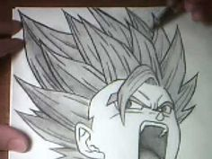 drawing SS2 TEEN GOHAN