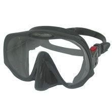 Atomic Aquatics Frameless Mask, Clear Skirt