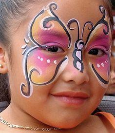 Pink Butterfly et d'autres jolis grimages en suivant le lien