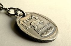 South African coin charm, Vintage charm, African charm, African keychain, Purse charm, Animal charm, Gazelle, Antelope, Charms, Coins, 1994 by CoinStories on Etsy