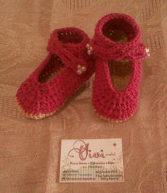#zapato #crochet #tejido #bebe