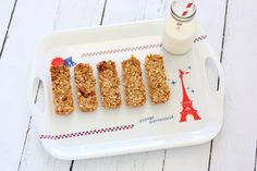 Homemade Honey Almond Granola Bars - Bonjour Sucre
