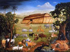 Noahs Ark Painting  - Noahs Ark Fine Art Print