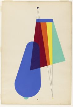 Man Ray. Long Distance from the portfolio Revolving Doors. 1926. Pochoir