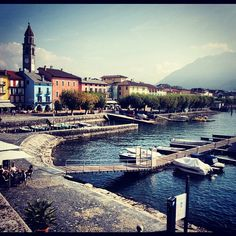 Ascona - beautiful setting for the Albergo-Caffè Carcani and Hotel Eden Roc @Hotel Eden Roc