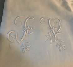 Antique set French en fil pure linen sheet and Linen Sheets, Linen Bedding, Flax Plant, French Bed, Shops, French Decor, Cottage Chic, French Antiques, Hand Sewing