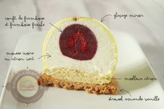 The tangy (raspberry and lime dessert) - Surprises and delicacies - - Zumbo's Just Desserts, Lime Desserts, Layered Desserts, Plated Desserts, Dessert Recipes, Mini Pastries, Sweet Pastries, Moose Cake, French Macaroon Recipes