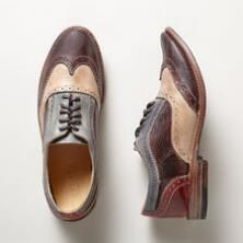 These handmade Oxford shoes finish a time-honored design with unique flair.