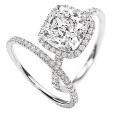 """Twitter / HarryWinston: Your One and Only. Harry Winston's """"The One"""" Micropave Diamond Engagement Ring."""