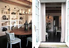 15/ Bookshelves in Dining room???!!!