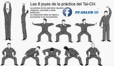 TU SALUD: Las 8 joyas del Tai-Chi TAOISMO: Chi Kung.