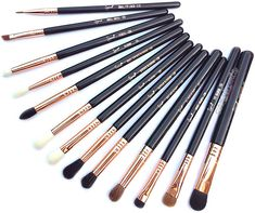 Review of Sigma Beauty Ultimate Copper Eye Brush Set.
