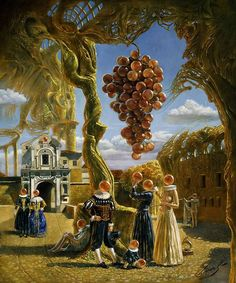 Michael Cheval [aka Khokhlachev; Михаил Хохлачёв] (b1966, Kotelnikovo, Volgograd, Russia; 1980 ~ moved to Germany; 1986 ~ moved to Turkmenistan; since 1997 ~ based In US)