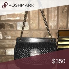 TORY BURCH MARION QUILTED CROSS BODY/SHOULDER BAG! This is a TORY BURCH MARION Handbag that is QUILTED. It has a leather and chain strap that can be worn long for cross body or short for shoulder!! This is is EXCELLENT CONDITION, but as with most of these quilted TB's there is a little wear on a corner of the bag. Will post more pictures soon. You really can't even see it unless you are really looking for it!! It's a AMAZING bag for snd Tory Burch lovrr😍😍😍🎉🎉 Tory Burch Bags Shoulder…