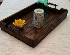 Small Reclaimed Dark Stained Pallet Wood Edge by NatureColorLovers