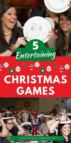 This Christmas season try these 5 entertaining Christmas games that everyone will enjoy! Good for groups of any age and size. Christmas Trivia Games, Christmas Names, Christmas Fairy, Merry Little Christmas, Kids Party Games, Games For Kids, Name That Tune Game, Diy Party, Party Ideas