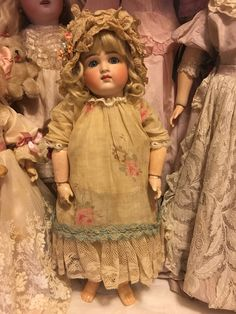 Open Closed Mouth Antique 15 inch Kestner Doll