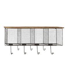 Love this Basket Wall Hook on #zulily! #zulilyfinds