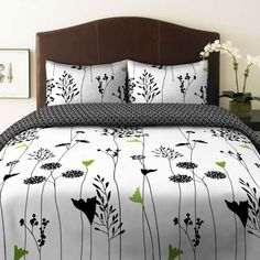 Perry Ellis, Asian Lily Collection, Duvet Set, Full/Queen - Product Description: Perry Ellis America features updated Asian Lily print bedding ensembles that will updat Bed Sets, Duvet Cover Sets, Comforter Sets, King Duvet, Queen Duvet, Asian Lilies, Plum Bedding, Black Bedding, Thing 1